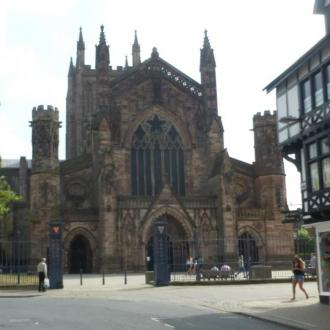 Hereford Cathdral Approach